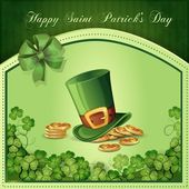 Saint Patrick's Day card — Vetorial Stock