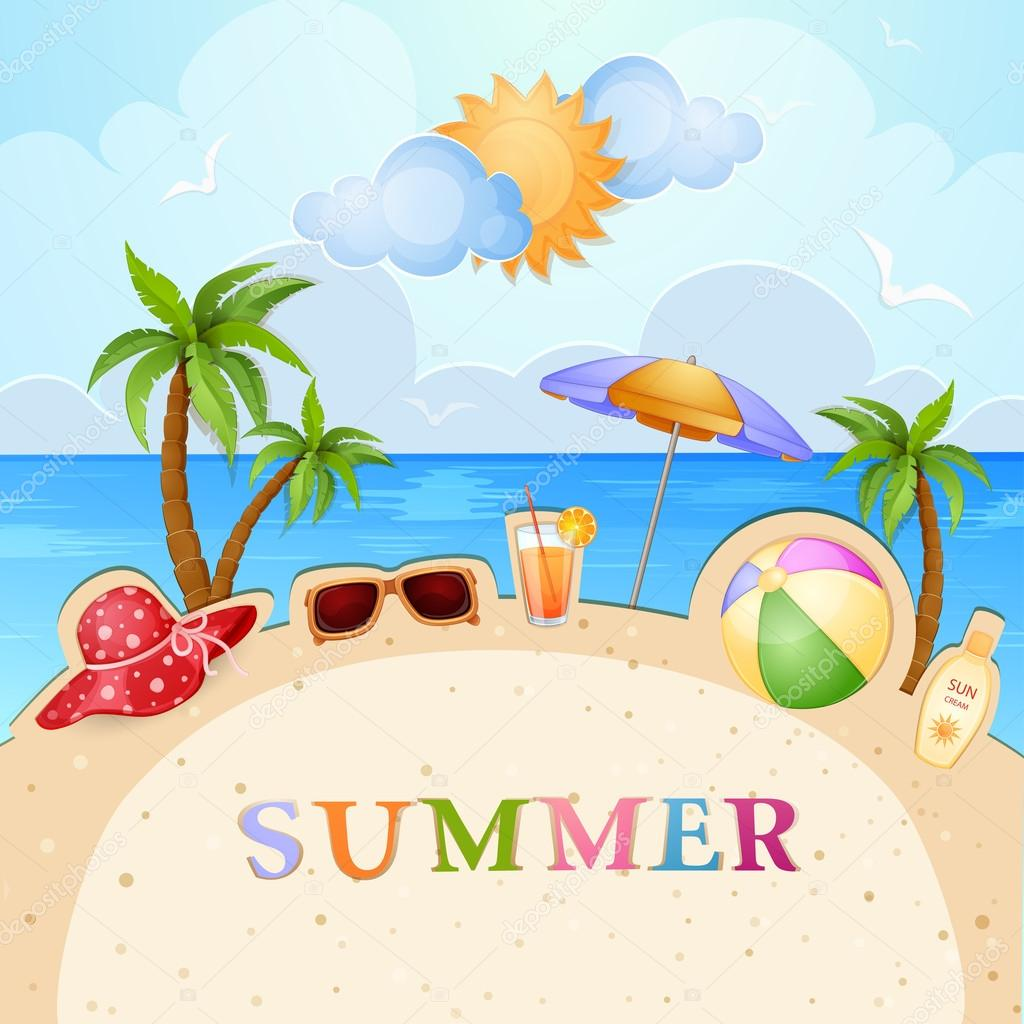 summer vector illustraitons - photo #19
