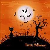 Halloween ilustrace. — Stock vektor