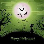 Cadılar bayramı illüstrasyon. — Stok Vektör