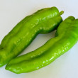 Two peppers — Stock Photo