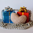 Stock Photo: Two gift boxes