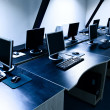 Computers room — Stock Photo