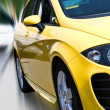 Yellow car — Stock Photo