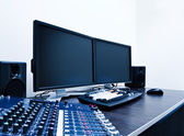 Video editing workstation — Stock Photo