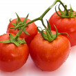 Wet tomatoes — Stock Photo