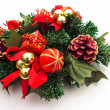 Stock Photo: Christmas wreath decoration