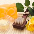 Stock Photo: Skin care objects