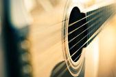 Detail van de gitaar — Stockfoto