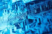 Computer circuit board — Stock Photo