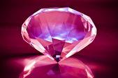 Brilliant shiny diamond — Stock Photo