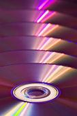 DVD background — Stock Photo