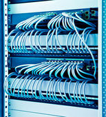 Network switches — Stock Photo