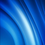 Blue curves — Stock Photo