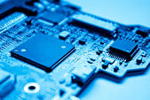 Electronic circuit — Stock Photo