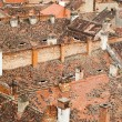 Roofs of the old city — Foto de Stock