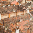 Roofs of the old city — Stockfoto