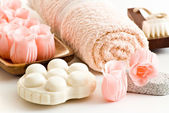 Bath items — Stock Photo