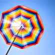 Stock Photo: Colorful sunshade