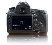Back of photo camera — Stock Photo