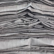 Packed drapery jeans cloth  — Stock Photo