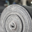 Rolled drapery in a jeans factory — Stock Photo #12616719