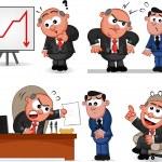 Boss Man Set 10 — Stock Vector #27054523