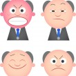 Funny Boss Set — Stock Vector #35192775