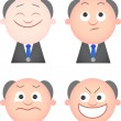 Funny Boss Set — Stock Vector #35192789