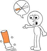 Quit Smoking — Stock Vector