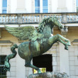 Pegasus in Mirabell Gardens - Zdjcie stockowe
