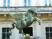 Pegasus in Mirabell Gardens — Stock Photo