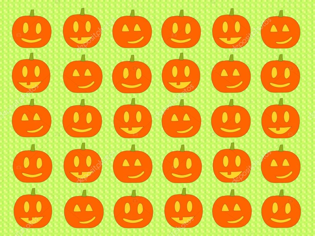 Halloween background with pumpkins — ストック写真 #12805355