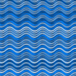 Background with waves - Stock Photo