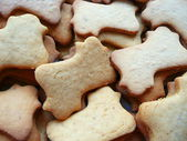 Christmas cookies with ginger — Zdjęcie stockowe