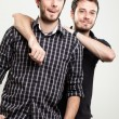 Happy Twins — Stock Photo #12488413