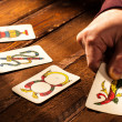 Neapolitan Cards — Stock Photo