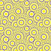 Yellow circles — Stock Vector