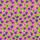 Circles seamless pattern — ストックベクタ