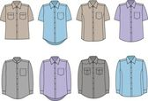 Men's shirts — Stock Vector