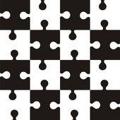 パズルのパターン — ストックベクタ