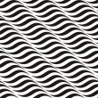 Vector de stock : Black-and-white pattern