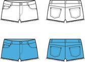 Shorts — Stock Vector