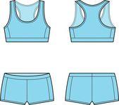 Sport underwear — Stock Vector