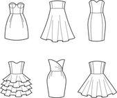 Dress — Wektor stockowy