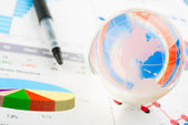 World finances — Stock Photo
