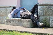 ホームレスの男性 — ストック写真