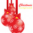 Red christmas decorations — Stock Photo #16780197