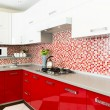 Modern kitchen — Stock Photo #17201421
