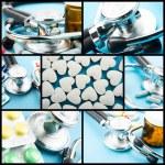 Medical theme collage — Stock Photo #20614483